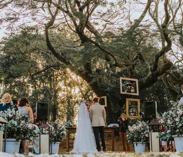 Casar ao ar livre de dia ou de noite: veja as diferenças