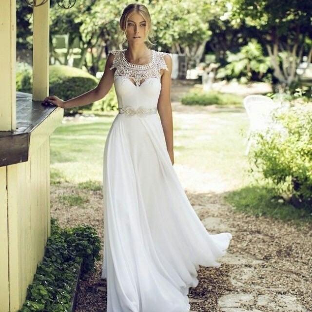 Vestidos de noiva para casamentos ao ar livre: inspire-se!