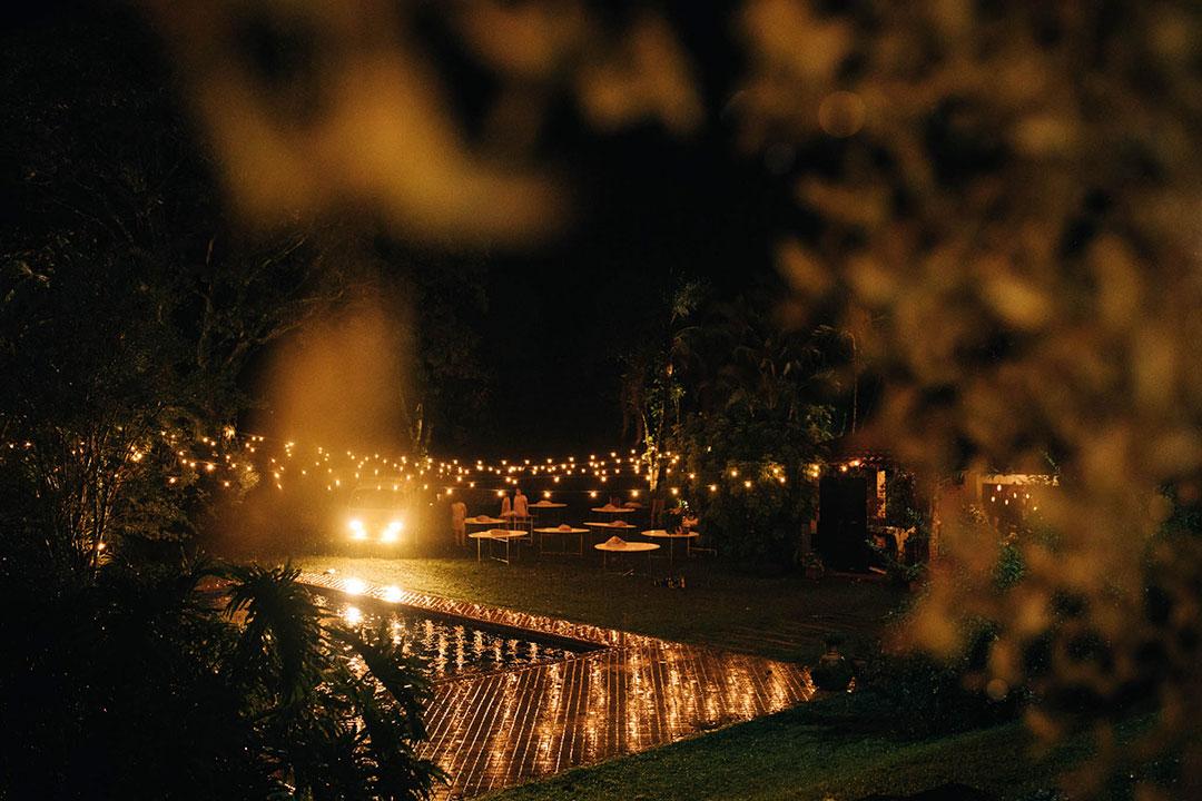 Casamento no campo Confira 4 dicas para cerimônias noturnas