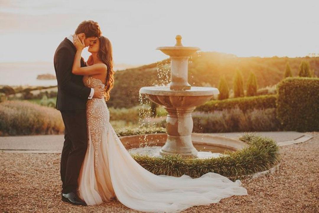 Como planejar um casamento romântico ao ar livre