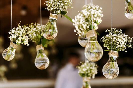 5 flores naturais que não podem faltar na decoração do seu casamento